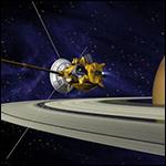 Cтанция Cassini сделала фотографию Сатурна и его колец
