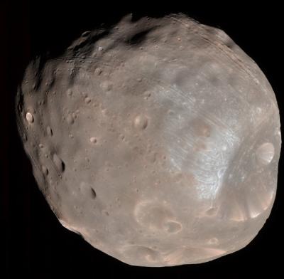 Фобос и Деймос посчитали результатом столкновения луны с Марсом