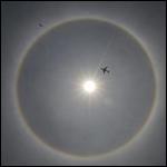 Солнечное гало напугало жителей Мехико