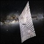 Путешествовать в космосе предложили на графеновых парусах