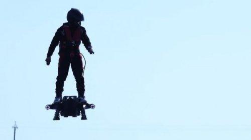 Возможно вскоре воздушный ховерборд будет использовать армия США