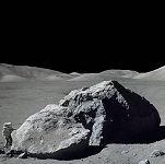 Японский спутник обнаружил на Луне следы древнего земного кислорода