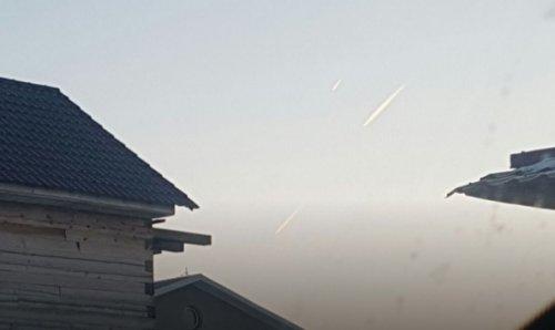 Три НЛО пролетали через Благовещенск в сторону Китая