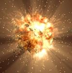 Сильнейший взрыв в космосе уничтожил одну из галактик