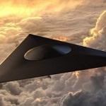 Американский сверхсекретный самолёт TR-3B Black Manta засняли в штате Орегон