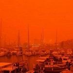На Крит из Африки пришла красная пыльная буря
