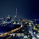 Необычные объекты над Торонто