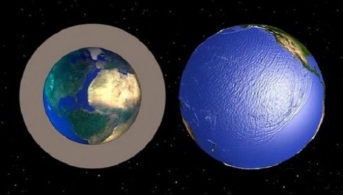 Наша планета растет и становится холоднее