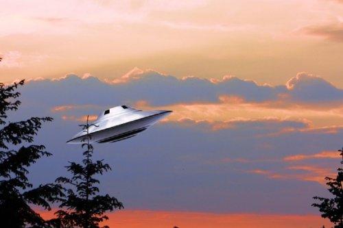 В штате Калифорния опять засняли НЛО
