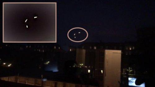 В Дании заметили три НЛО