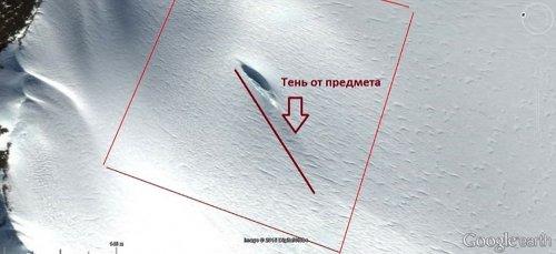Антарктида усеяна НЛО и уставлена башнями