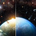 Массивная звезда могла помочь Земле не стать планетой-океаном