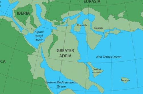 Ученые обнаружили потерянный континент