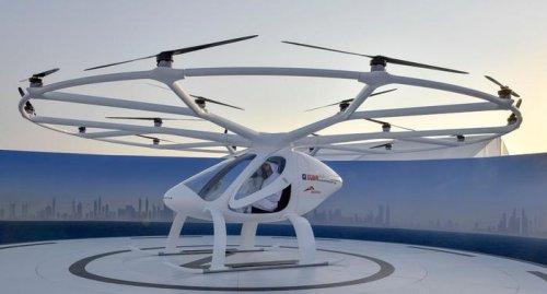 В Германии испытали двухместное воздушное такси