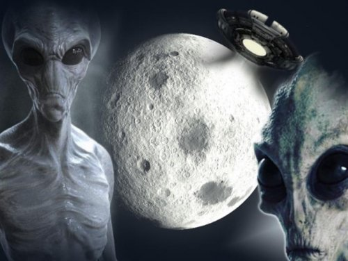 Инопланетяне не пускают землян на Луну