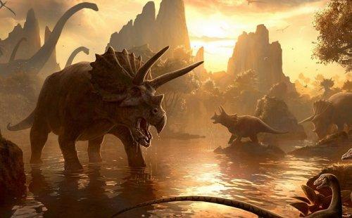 До падения астероида на Землю динозавры не собирались вымирать